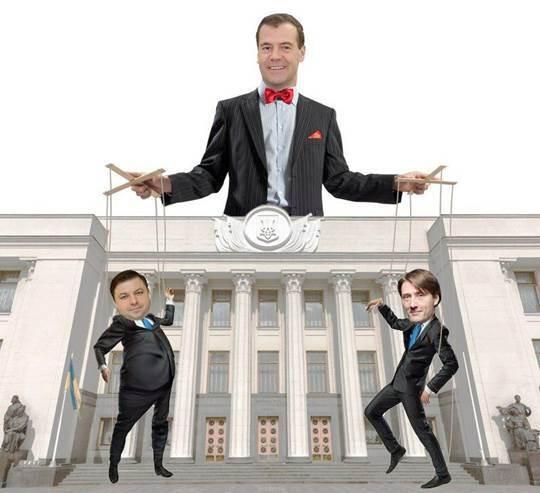 Российское лобби Медведева борется за украинскую сою