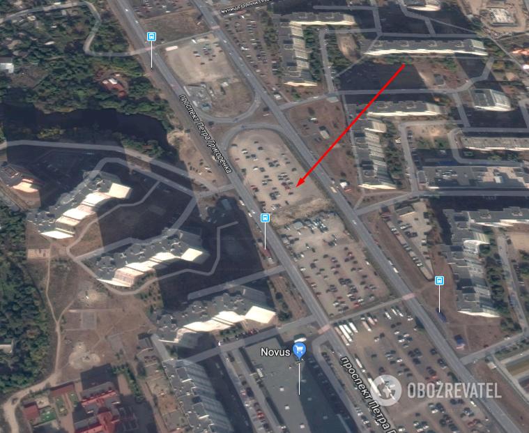 Под носом у охраны: в Киеве со стоянки угнали внедорожник