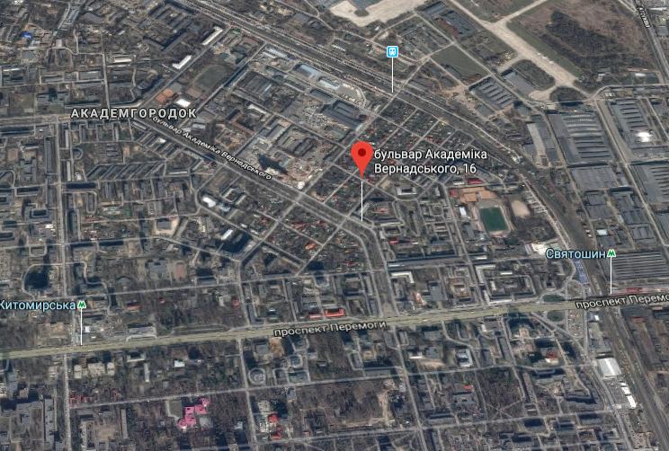 Стрельба произошла на бульваре Академика Вернадского