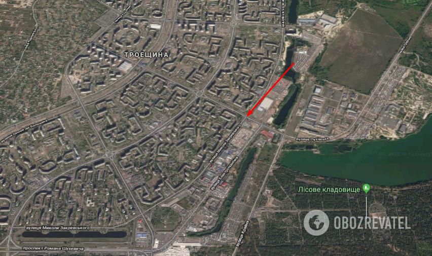 Авария произошла на перекрестке улиц Электротехнической и Сабурова