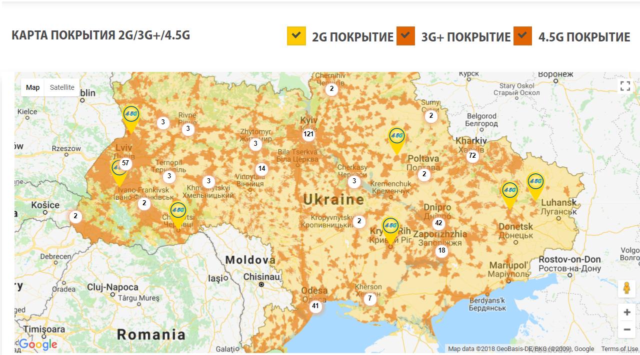 В Украине заработал 4G: все, что нужно знать