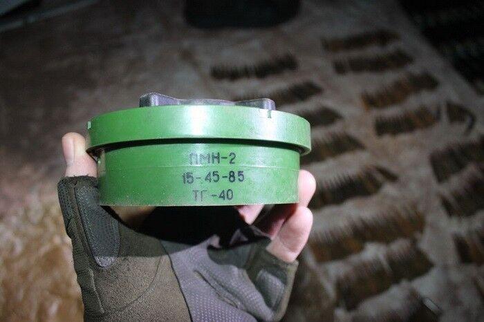 У зоні АТО виявили схованку з російською зброєю