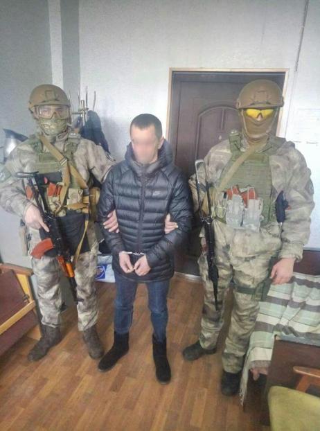 Затриманий за підрив офісу ОВК