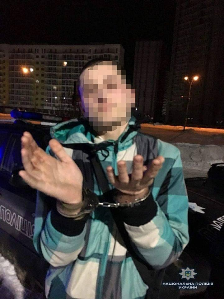 Під Києвом обстріляли людей: фото злочинця