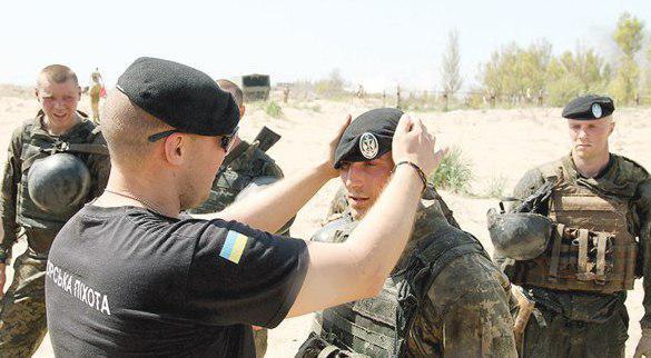 Экзамен на черный берет для десантников
