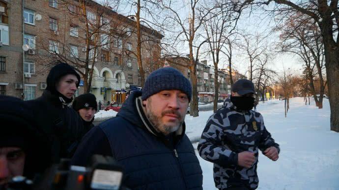 """Справа Веремія: активісти влаштували Крисіну """"коридор ганьби"""""""