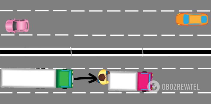 схема ДТП