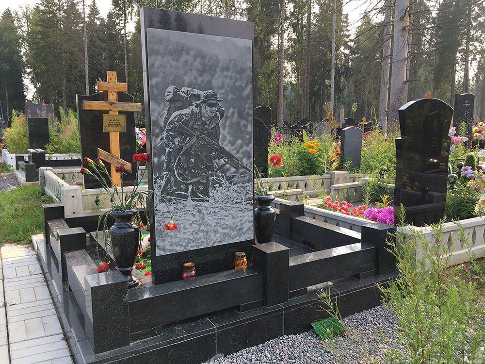 """Знайшлося фото могили одного з терористів """"Л/ДНР"""" у Росії"""
