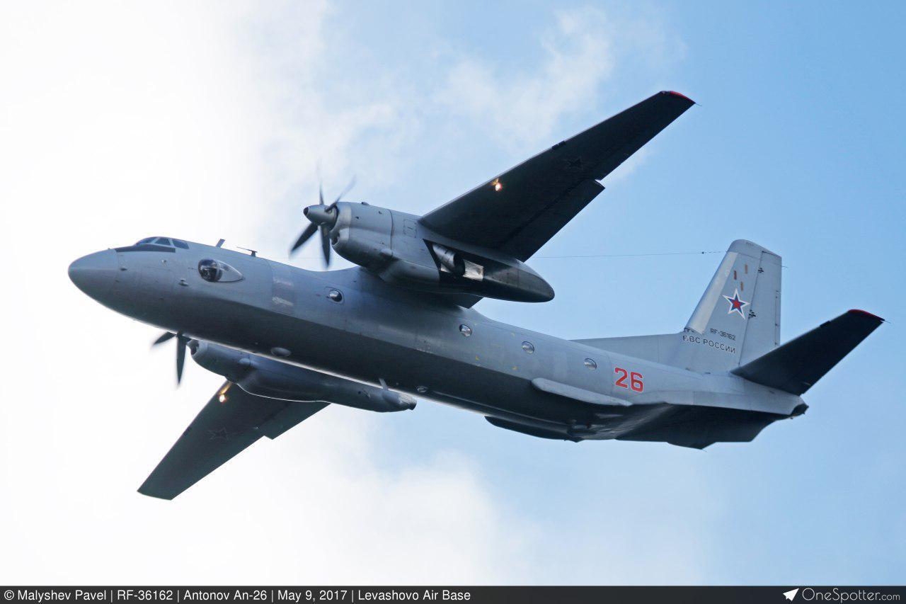 У мережі з'явилися перші фотографії Ан-26, що розбився у Сирії