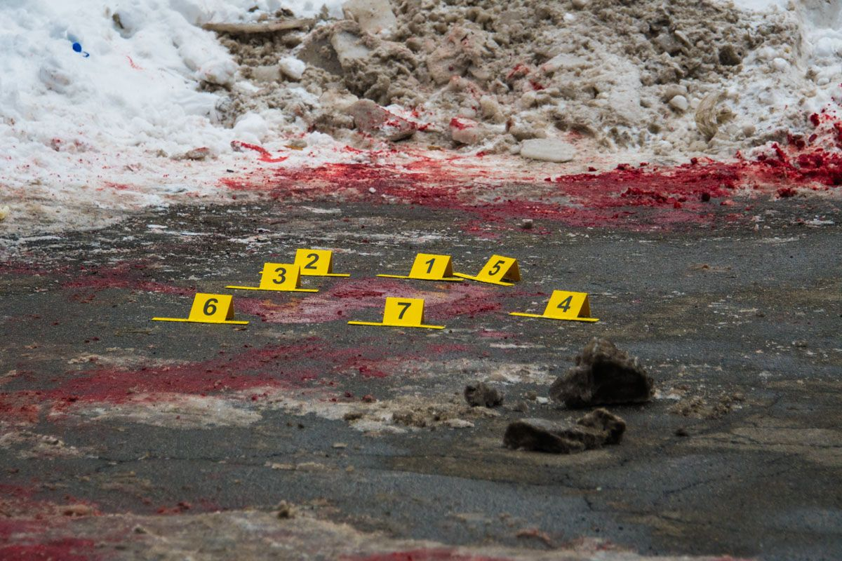 Установлена личность убитого в центре Киева