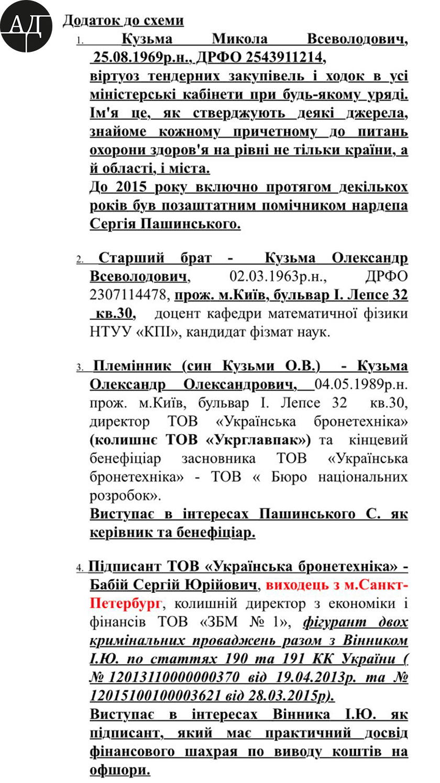 """Пашинского и Винника обвинили в """"распиле"""" оборонки"""