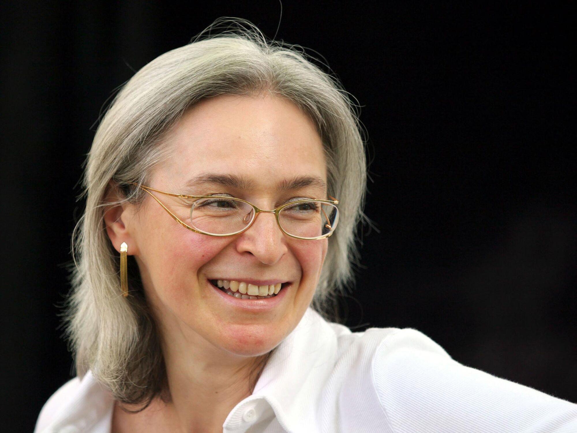 Журналіст Анна Політковська