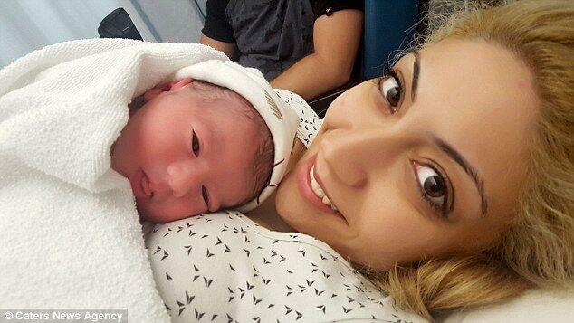 Рафаела Лампру з сином
