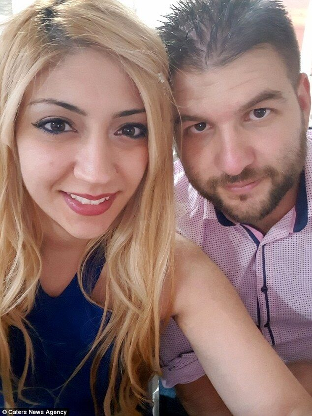 Рафаела Лампру з чоловіком