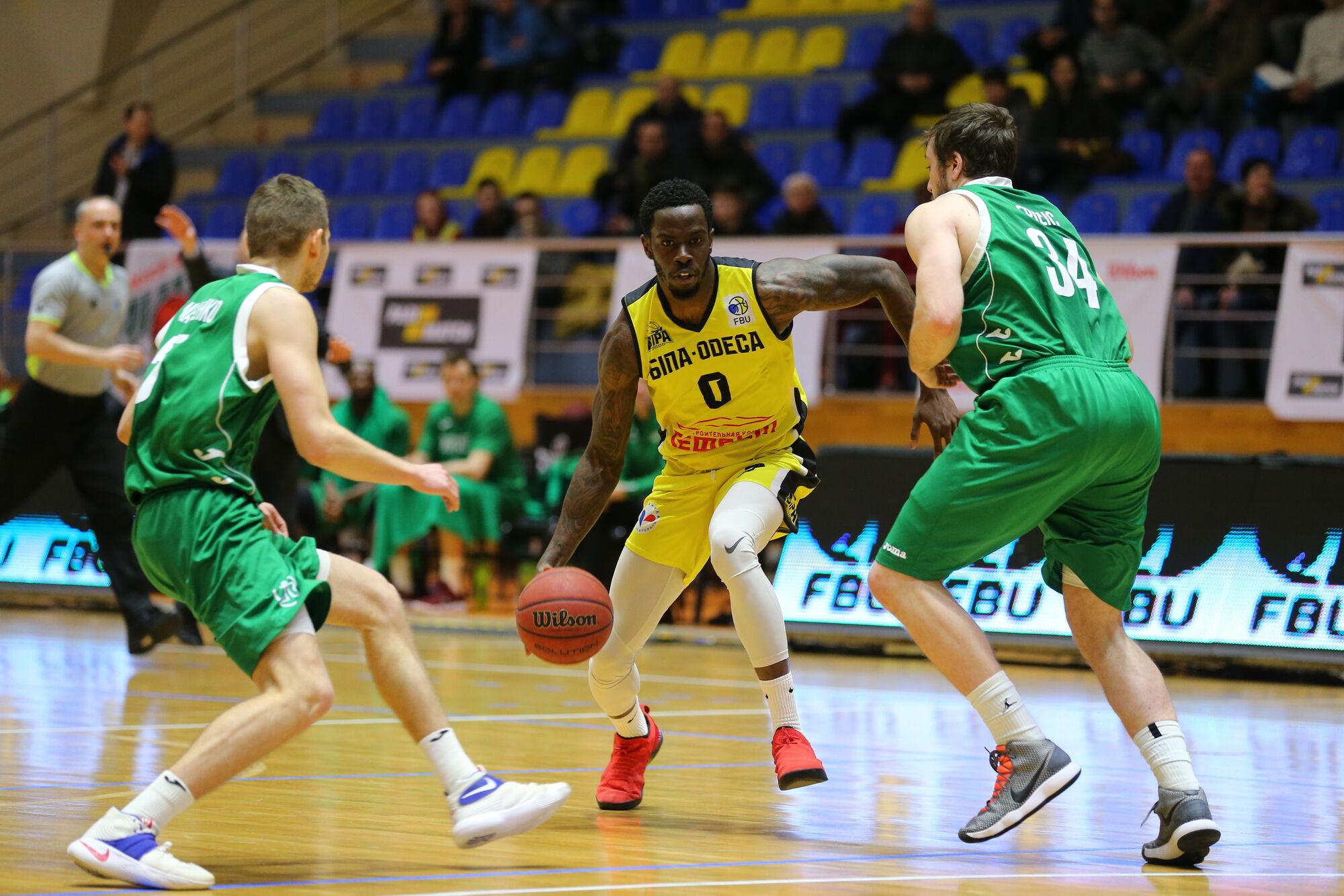 Стали известны финалисты Кубка Украины по баскетболу