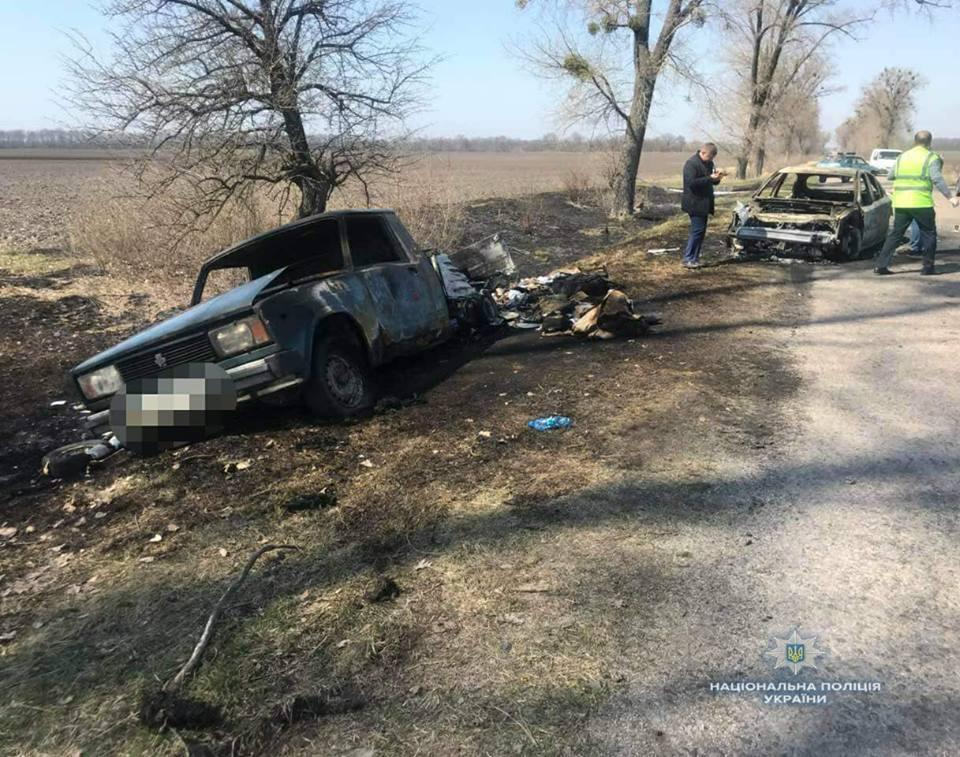 """Під Києвом напали на авто """"Укрпошти"""""""