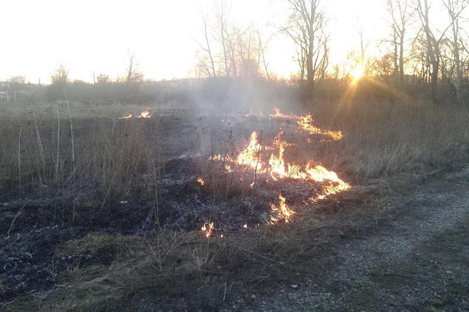 Спасатели Харьковщины предупреждают об опасных поджигателях