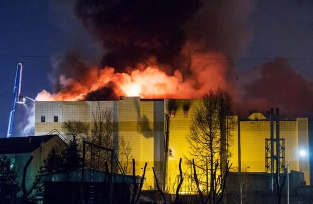 В МЧС РФ объяснили, почему дети в ТЦ сгорели