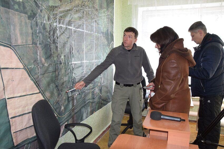 Глава ВГА в Зайцево Владимир Веселкин