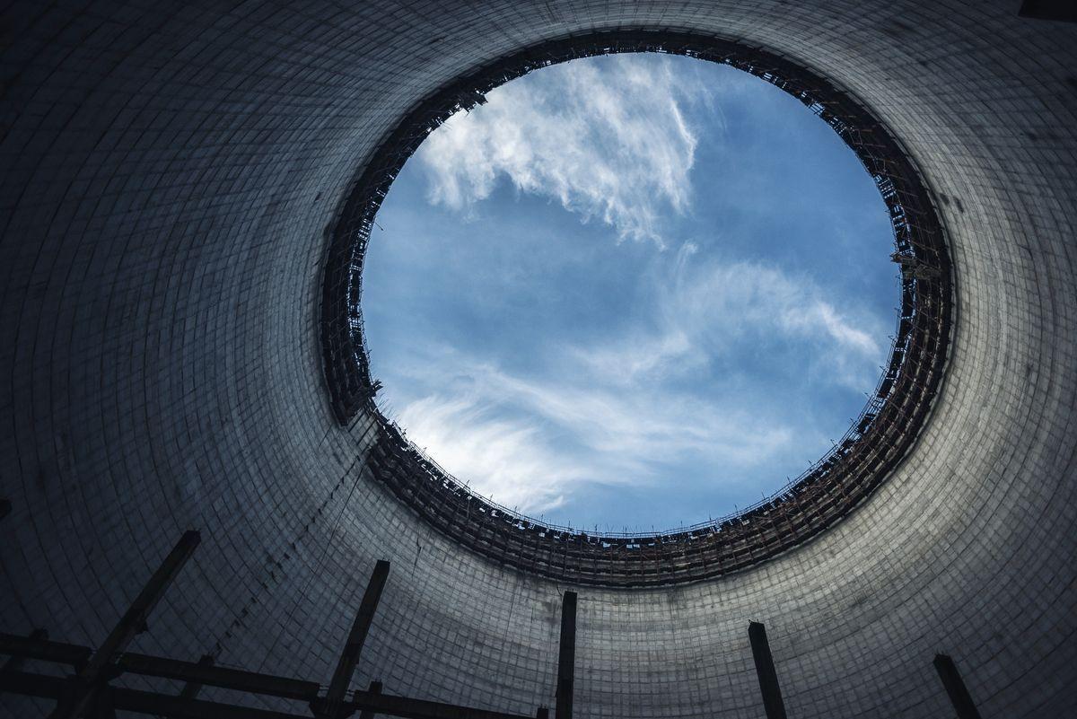 В Киеве покажут фильм-постсимфонию о гигантской арке над ЧАЭС