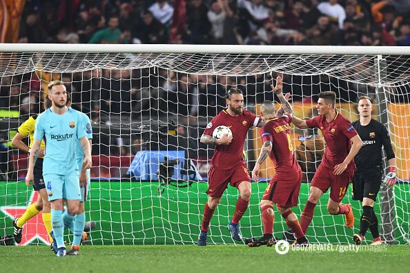 Рома - Барселона