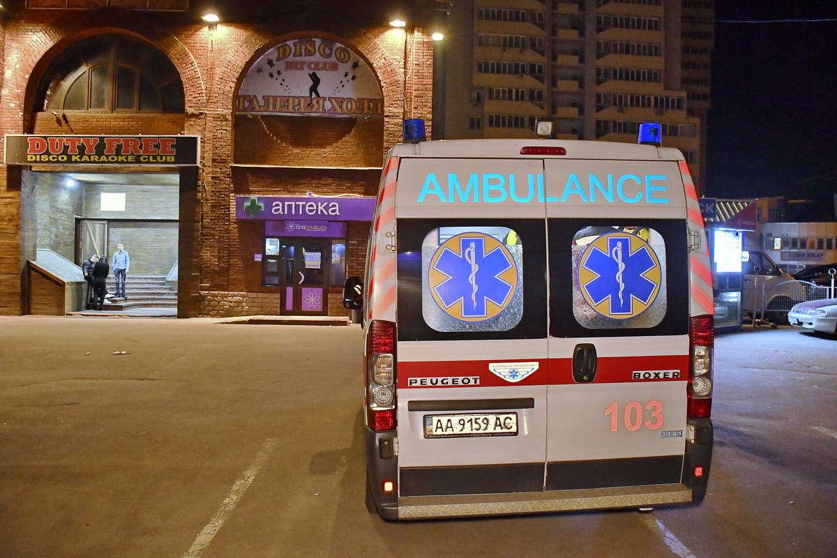 У Києві сталася стрілянина біля нічного клубу