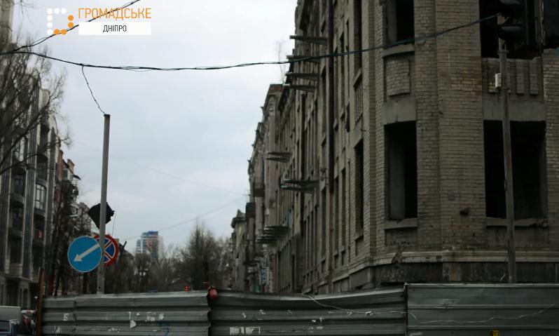 Журналисты сняли фильм о старинной улице Днепра
