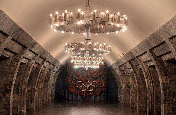 """Станція метро """"Олімпійська"""""""
