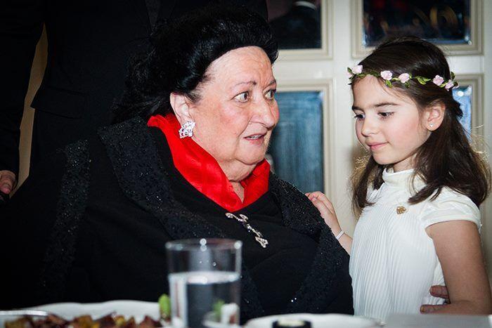 Монсеррат Кабальє і її внучка Даніела