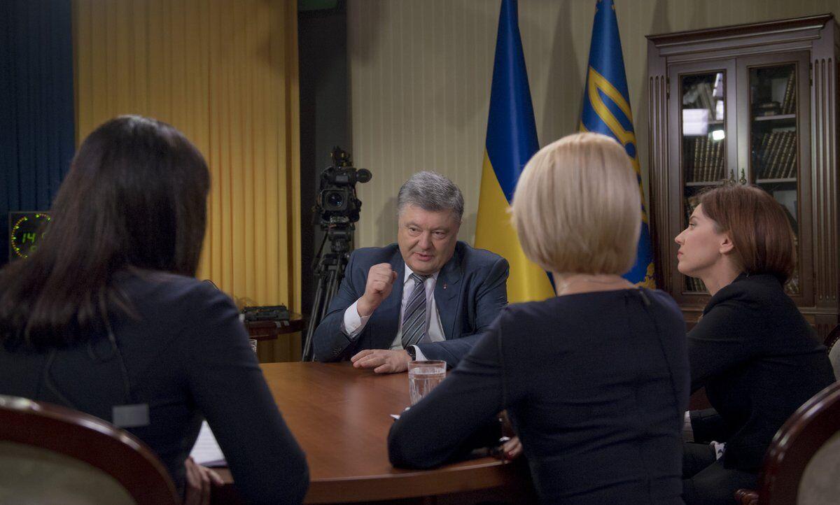 Порошенко розповів про миротворців на Донбасі