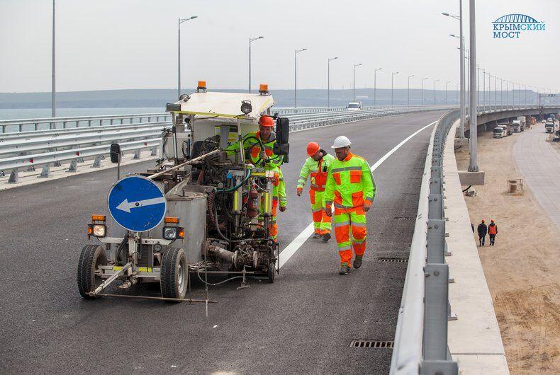 Крымский мост: объявлен финальный этап
