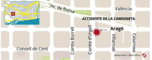 В Испании грузовик влетел в толпу