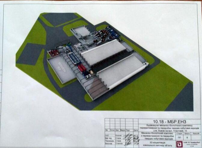 Каким будет завод по переработке мусора во Львове: визуализация проекта