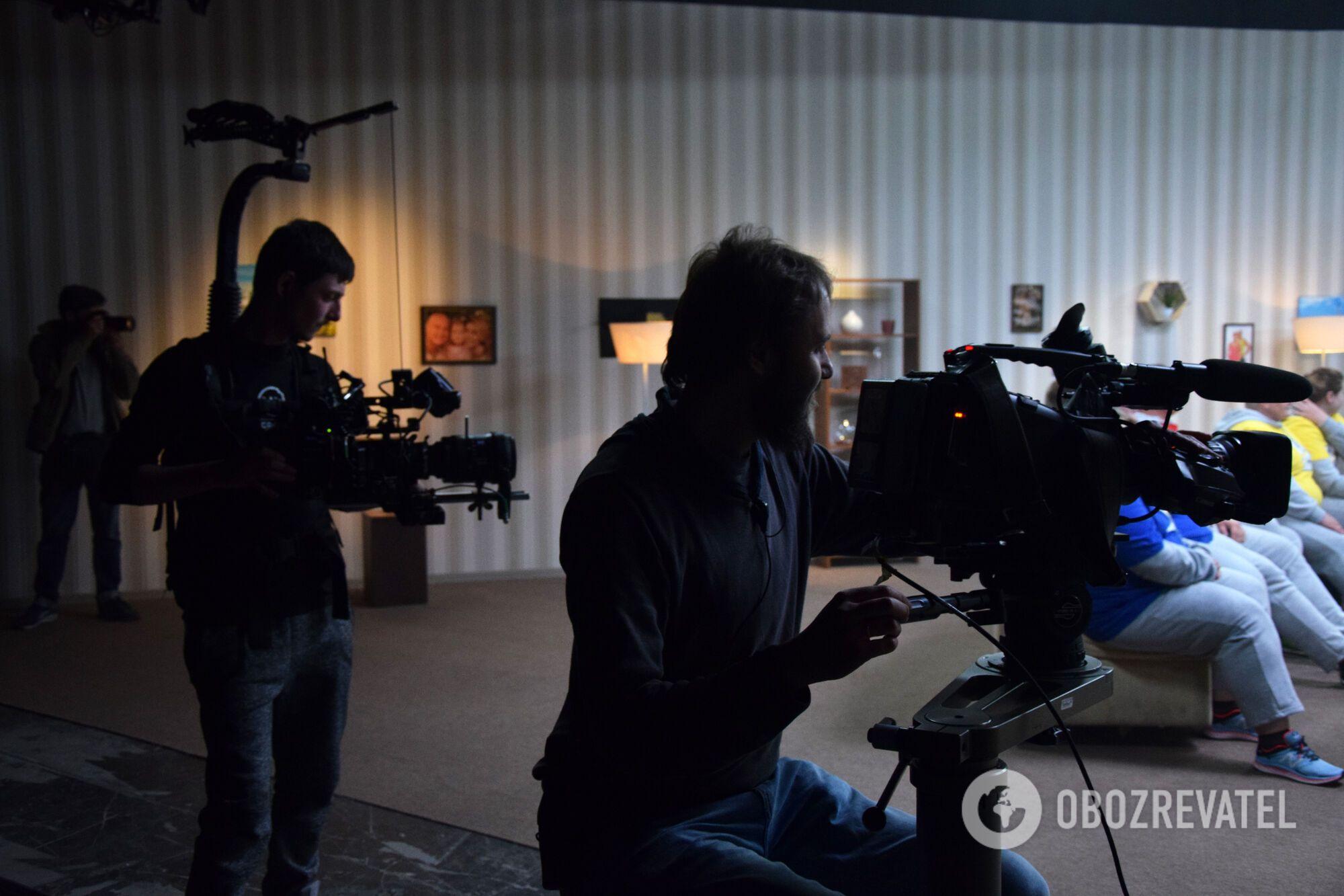 """""""Зважені та Щасливі-8"""": репортаж зі зйомок"""