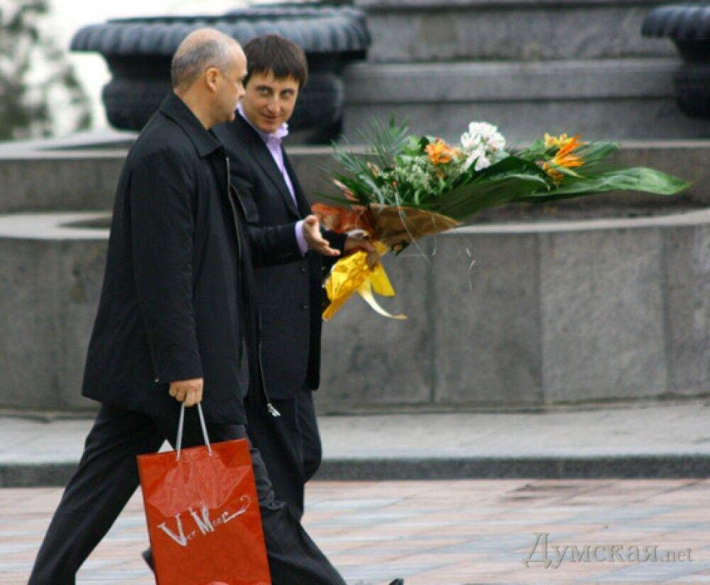 Геннадий Труханов и Юрий Шумахер