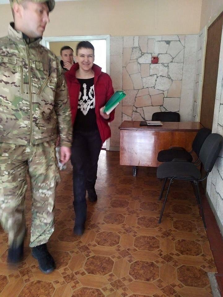 Савченко свозили к психиатру