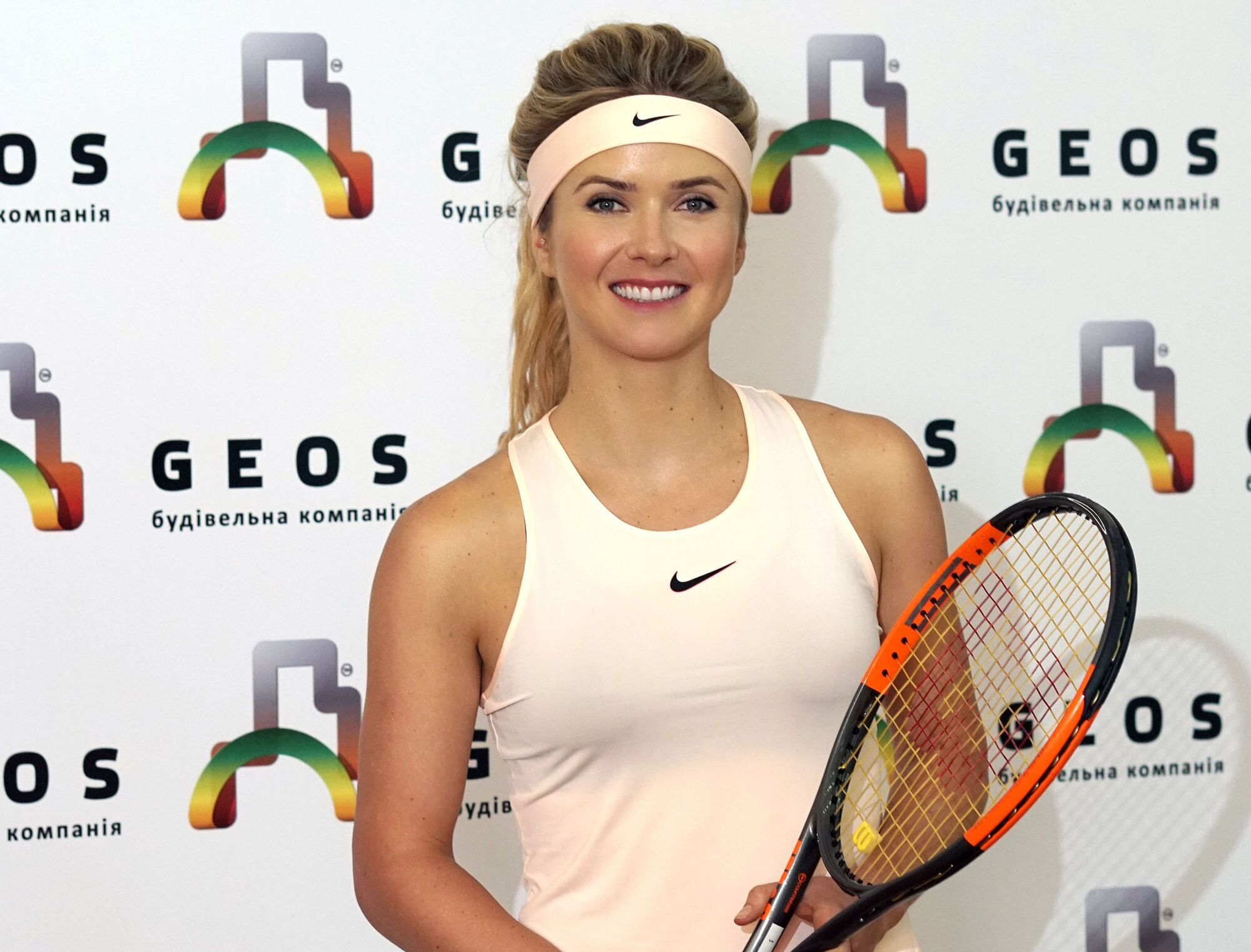 Відома на весь світ тенісистка стала обличчям рекламної кампанії БК Geos