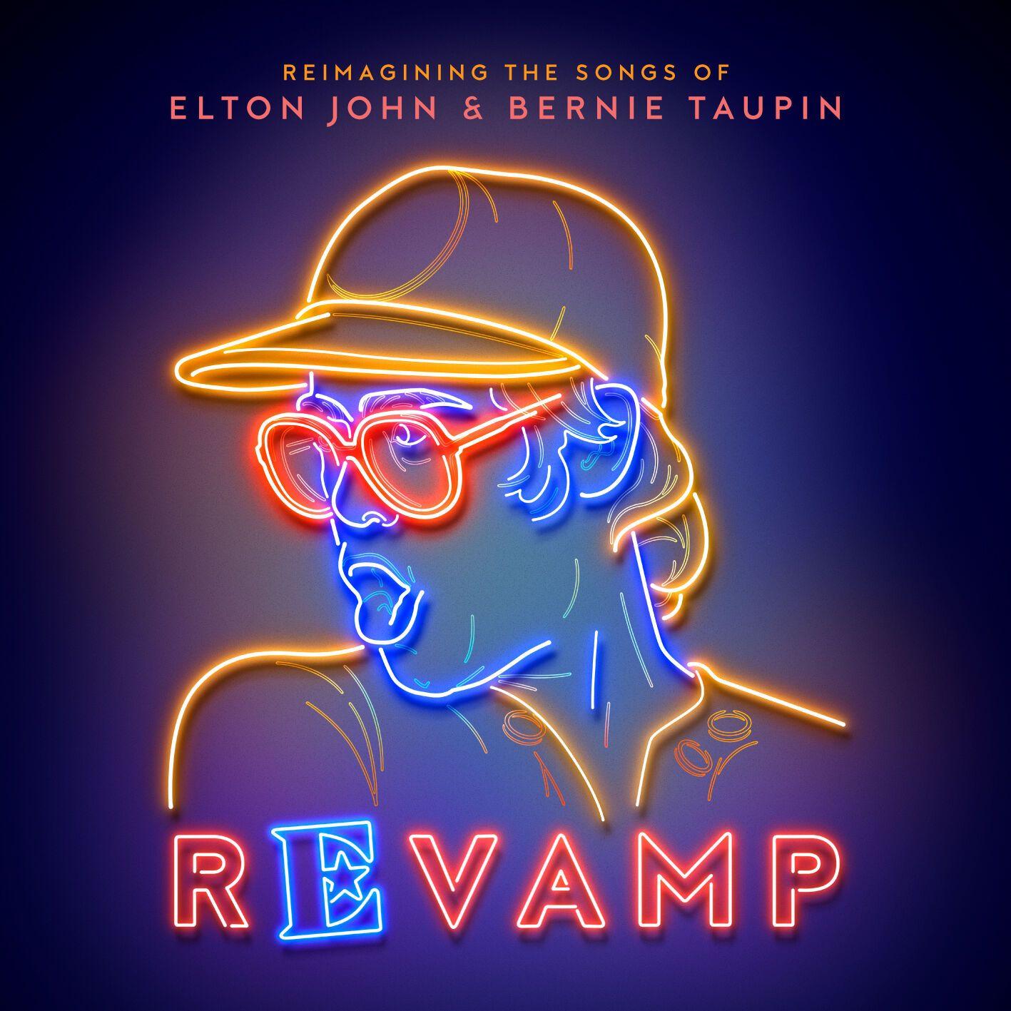 Украинский художник оформил обложку альбома Элтона Джона
