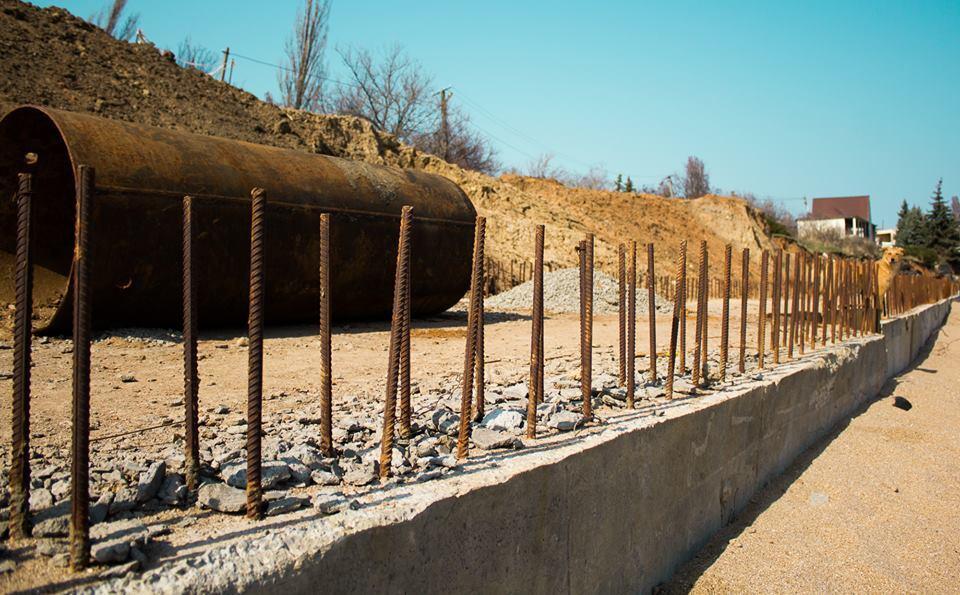Будинки Одеси пішли під землю: фото