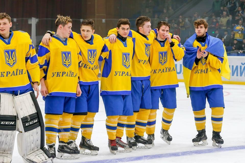 Украина выиграла чемпионат мира по хоккею U-18