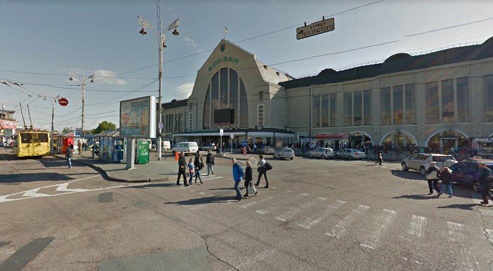 Злочин стався біля київського ж / д вокзалу