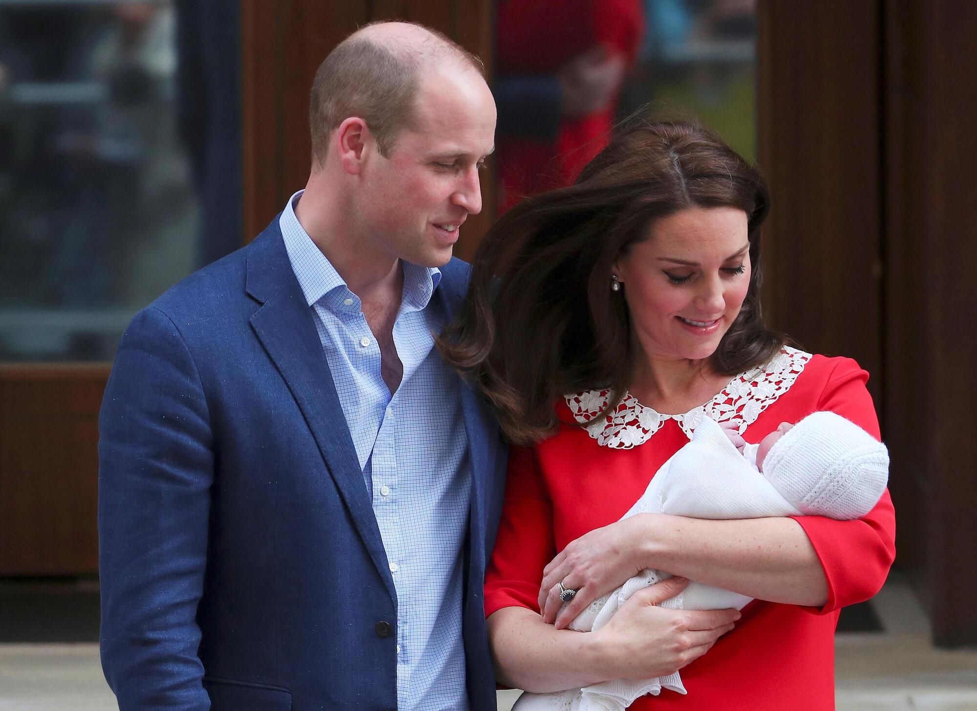 Кейт Міддлтон народила: перші фото принца