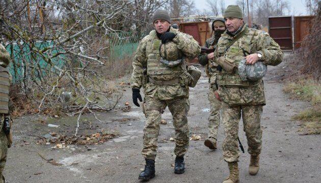 Начальник Генштабу Віктор Муженко на Донбасі буває досить часто