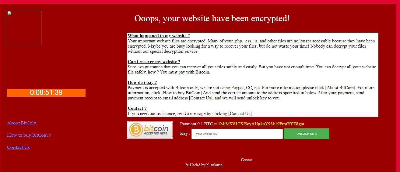 Хакери зламали сайт українського міністерства