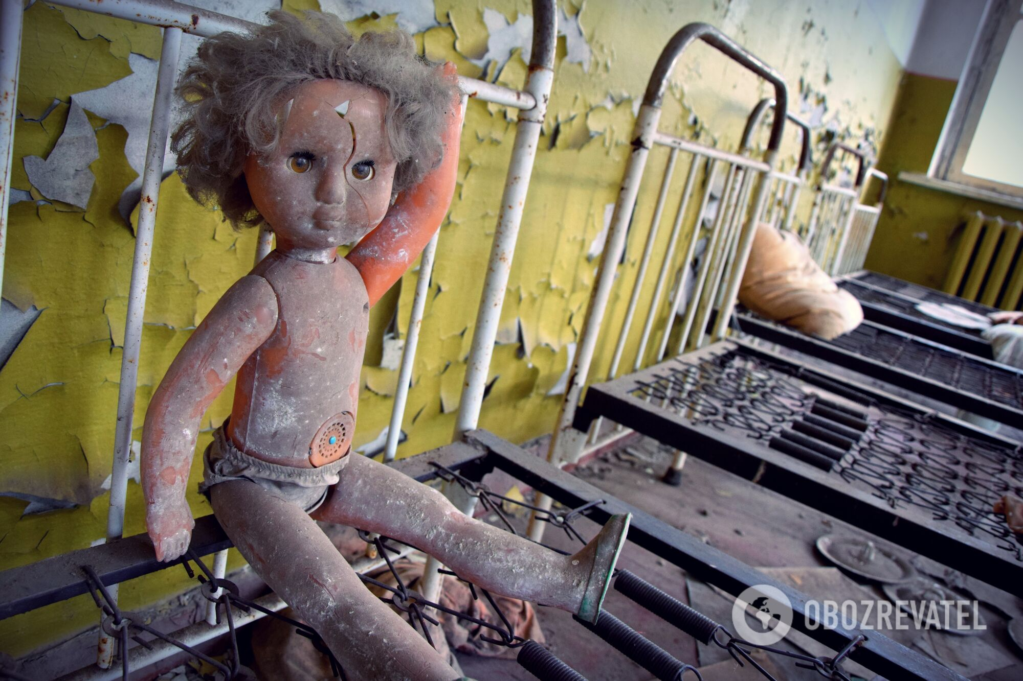 Уцелевший детский сад снесенного села Копачи