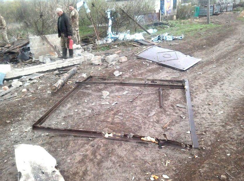 Що залишилося від Луганського після обстрілу терористами
