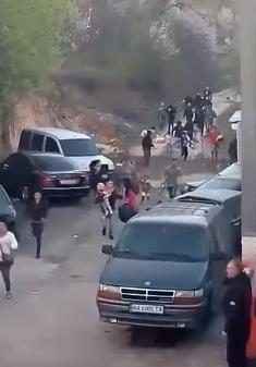 Разгон ромов на Лысой горе: новое видео