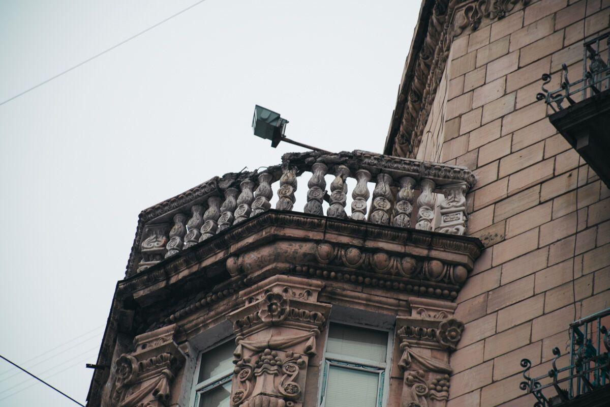 В Киеве начал разрушаться памятник архитектуры