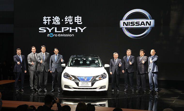 Nissan представив перший китайський електрокар