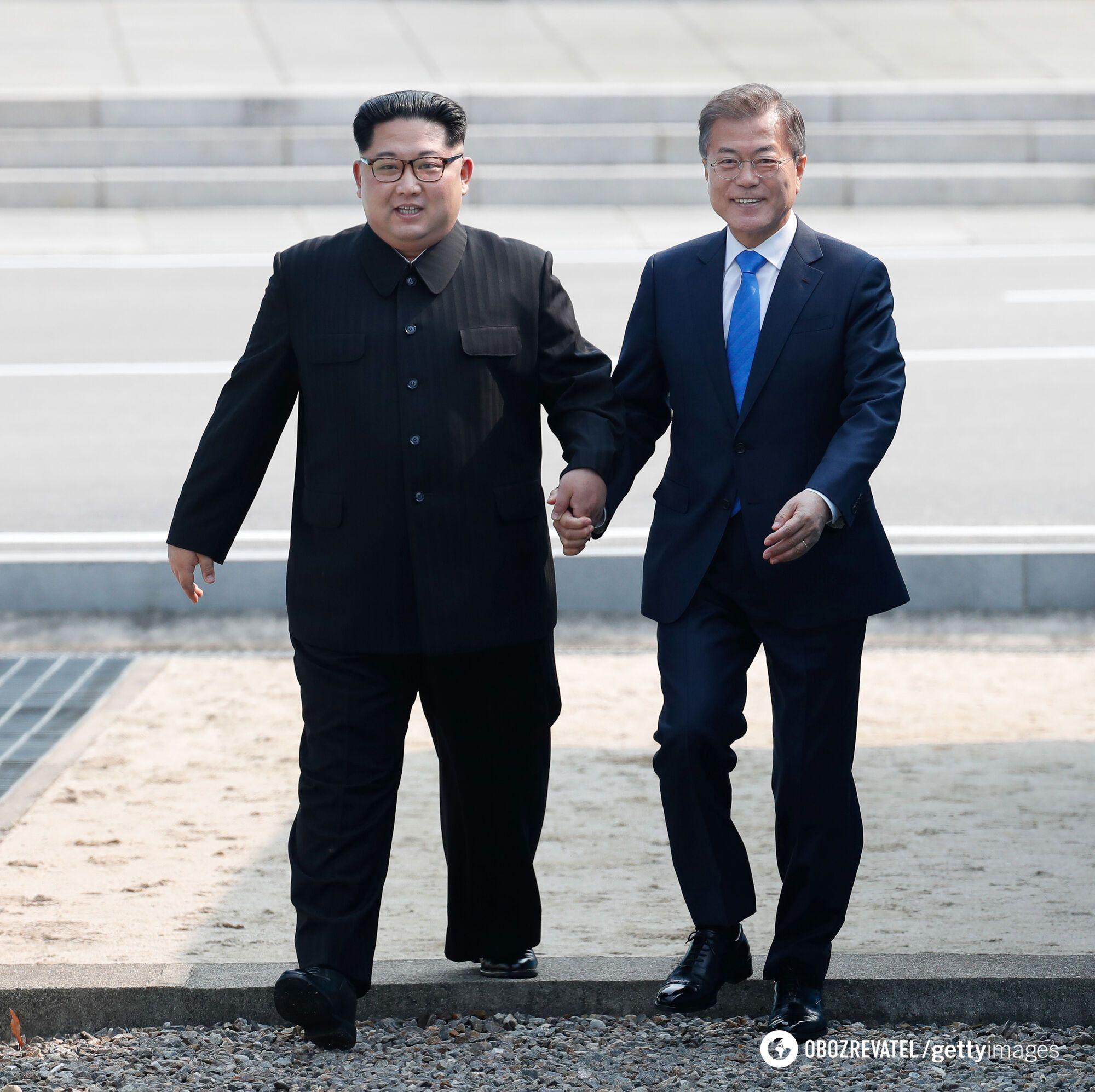 Главы КНДР и Южной Кореи провели историческую встречу: все подробности (Видео)